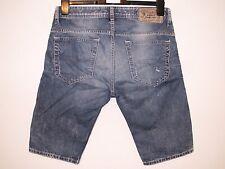 Da uomo originale DIESEL Thashort Pantaloncini Di Jeans Lavare 0889M W29