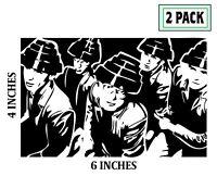 2 PACK DEVO Stickers Vinyl Decal