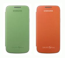 Samsung 2 Pack Clip on Flip Case for Samsung Galaxy S4 Mini Orange - Mint Green