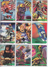 X Men:95 Flair Marvel Annual-1995 Marvel-Lot 31-9 Cards