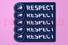 UEFA Respect 2011-2012 Sleeve Soccer Patch / Badge X 5 sets