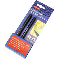 Pack of 2 Derwent Pencils Artist Sketching Blender Blending Pens Graphite Colour
