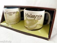 3 Oz 3Oz Starbucks Malaysia kuala lumpur Set Global Icon Demitasse Mini Mug City