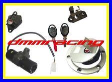 Kit Serrature Aprilia RS 125 tappo serbatoio sella bloccasterzo chiavi chiave 99