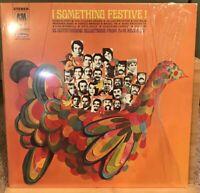 Something Festive Christmas Album Vinyl LP Herb Alpert, Liza Minnelli, Sergio