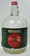 Vintage One Gallon Glass Bottle Coca-Cola Coke Soda Syrup With Nice Label & Cap