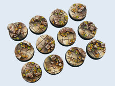 Ancient Bases, Round 25mm (5) - *MicroArtStudio*