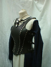 Cow Leather Women Corset Armor LARP SCA Armour Halloween costume GAME OF THRONES