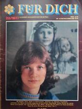 FÜR DICH 22 - 1977 Andrea FDGB-Kongreß Fibeln aus aller Welt Variable Mode DDR