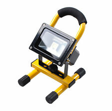 New 10W Rechargeable LED Waterproof Floodlight Work Light Portable Camping Lamp