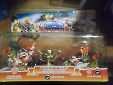 SKYLANDERS SUPERCHARGERS * LAND RACING * DOUBLE DARE TRIGGER * GOLD RUSHER *5*