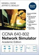 New CCNA 640-802 Network Simulator, Academic Second Edition, Wendell Odom 2012