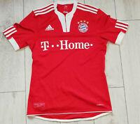 "Bayern Munchen 2009/2010 ""S"" Adidas Shirt Football Jersey Trikot"