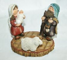 Cute Christmas Nativity candle holder Figurine Christmas decoration