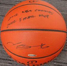 LEBRON JAMES HAND SIGNED UPPERDECK BASKETBALL CLEVELAND CAVALIERS NBA MVP JORDAN