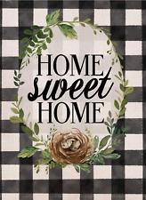 New listing Furiaz Home Sweet Home Farmhouse Decorative Garden Flag, Spring Summer Buffalo P