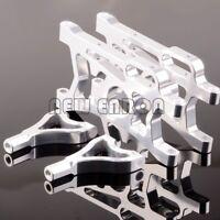 Silver Aluminum REAR SUSPENSION ARM SET For 1/5 HPI Baja 5B SS Rovan KING MOTOR