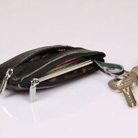 Wallet Clutch Zipper Vintage Ladies Money Bag Purse Pocket Genuine Leather