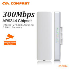 300Mbps 5GHz Outdoor Wireless Access Point Bridge Router Network POE CPE AP WiFi