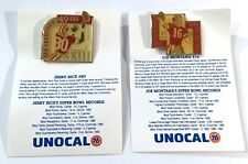 Vintage Unocal 76 San Francisco 49ers Super Bowl MVP Pins Joe Montana Jerry #B22