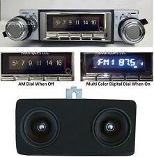 1969 Chevelle El Camino Malibu Bluetooth Stereo Radio Dash Speaker w/ AC 740