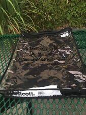 Westcott Masterpiece Sheet Background Black Muslin 10ftx12ft Used