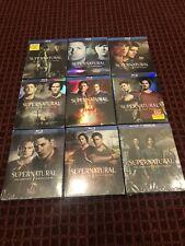 Supernatural Complete Season 1, 2, 3, 4, 5, 6, 7, 8 & 9 Blu-Ray *Brand New*