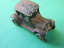 Antique Toy Old Car Model Cast Iron Kids Toy  Vintage Collectables