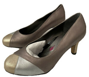 ROS HOMMERSON Joyce Leather Pump Heels Shoes SIZE 8.5 WW, NEW