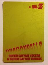 Dragon Ball Z PP Card Gold 1181