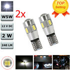 2x T10 501 194 W5W 5630 SMD Car LED HID Canbus Error Free Wedge Light Bulb Lamp
