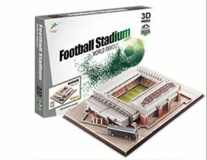 Realistic 3D Jigsaw Puzzles with Realistic Scale and Detail - Anfield Stadium