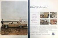 1964 Lincoln Continental Vintage Advertisement Print Art Car Ad Poster LG77