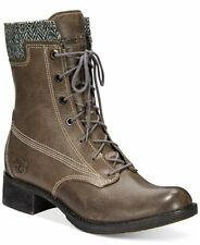 WOMEN'S TIMBERLAND*WHITTEMORE WOOL ACCENT LACE UP BOOTS*COLOR~GRAY/TWEED SZ 9.5M