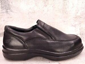 RED WING Mens Steel Toe Slip-On Electrical Hazard Black Leather Loafer 6646 9.5H