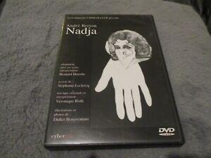 "RARE! DVD ""NADJA d'Andre Breton"" Bernard HAVETTE / theatre - 2002"