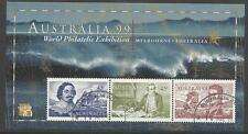 AUSTRALIA 1999 Exhibition NAVIGATORS S/Sheet COOK FLINDERS CTO