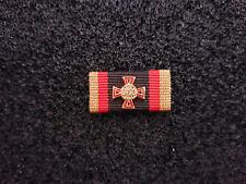 (A14-328) Ehrenkreuz Bundeswehr Einzeltat Gold Ordensspange Bandschnalle