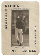 2005 THROWBACK THREADS POLO GROUNDS 65 STRIKE SHORT 3 #PG11 Kevin Millwood /65