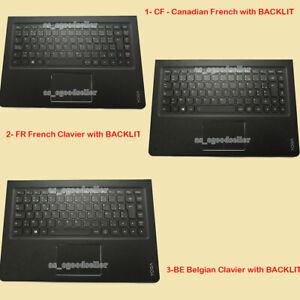 New for Lenovo Yoga 4 Pro Yoga 900 900-13ISK Keyboard BE / CA / French BACKLIT