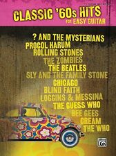 """""""CLASSIC '60s HITS FOR EASY GUITAR"""" MUSIC BOOK-BRAND NEW ON SALE-W/TAB SONGBOOK"""