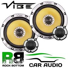 Ford Transit Custom 2012 On Vibe 690 Watts Component Kit Front Door Car Speakers