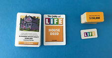 Game of Life 36 Deck of Cards and 19 Life Tiles Only MB Milton Bradley
