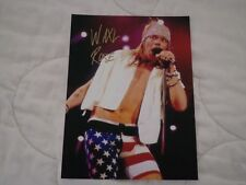 Guns N' Roses Signed Photo Authentic Axl Rose Hand Signed