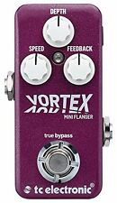 TC Electronic*VORTEX MINI*Helicon Mini Flanger Guitar Effects Pedal FREESHIP NEW