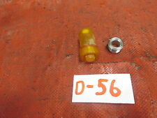 Triumph TR4, TR3, OrigInal Amber Plastic Warning light Holder & Chrome Nut, !!