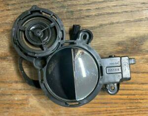 02-06 MINI COOPER S RIGHT PASSENGER INTERIOR INNER DOOR HANDLE W/ TWEETER OEM