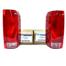 1990-1997 Ford F150 F250 F350 Bronco Rear Red Taillight Lamp Right Left Set OEM
