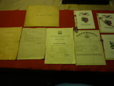 WW II US ARMY NCO certificates and training ( named ) Group of 11