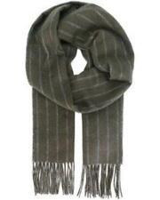 Salvatore Ferragamo  Men's Herringsbone Striped Scarf  MSRP: $350.00